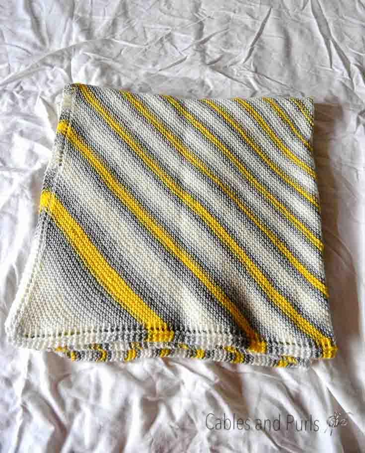 corner to corner knit blanket in loionbrand mochi bigsoops