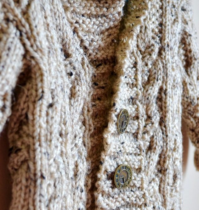 Seed Cable Cardigan