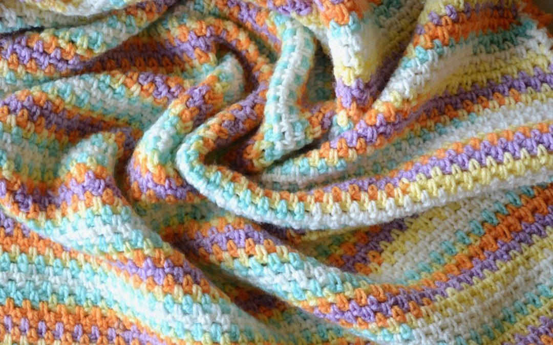 Colorful Baby Blanket (Crochet)